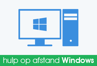 Hulp of afstand (Windows)